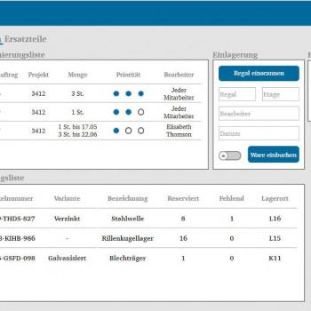 Thumbnail Digitalisierung in der Intralogistik II – Lösungsansatz und Ergebnisse